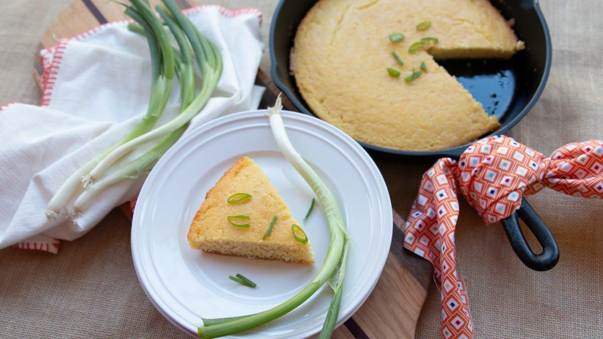 Pan de maíz keto