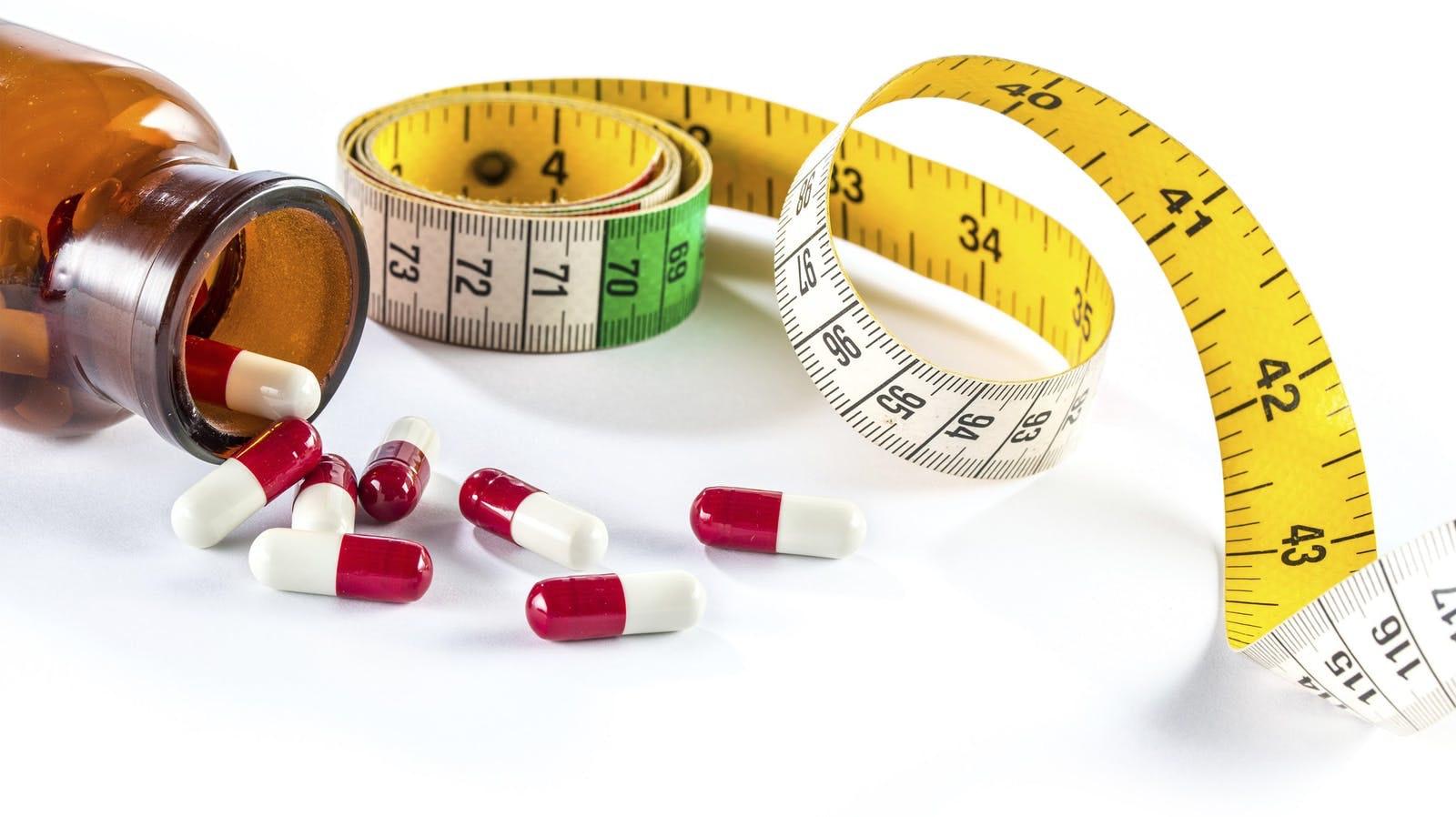 nombres de medicamentos para perder peso recetados