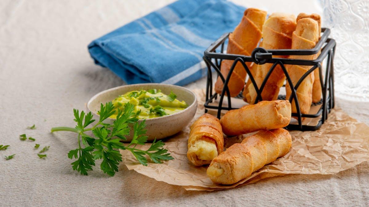 Tequeños bajos en carbohidratos