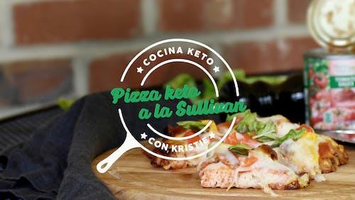 Cocina keto con Kristie- La pizza keto de Sullivan