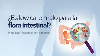 ¿Es low carb malo para la flora intestinal?