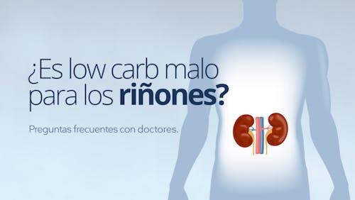¿Es low carb malo para los riñones?
