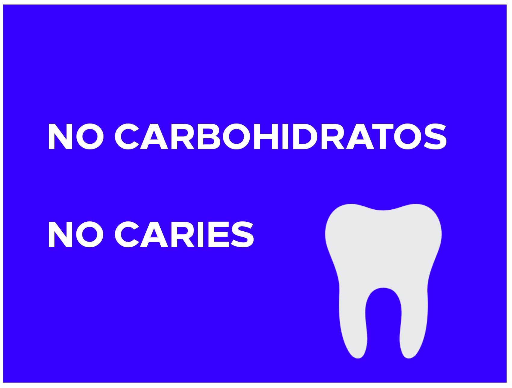No carbs no caries