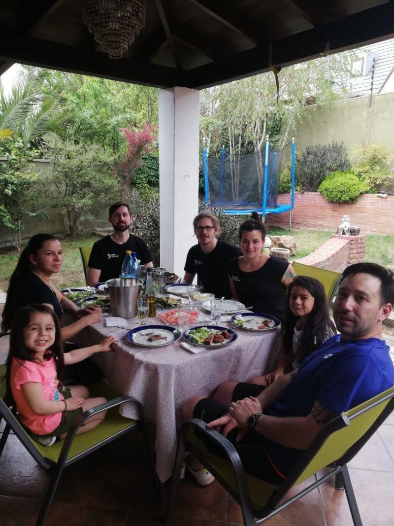 Almuerzo con la familia