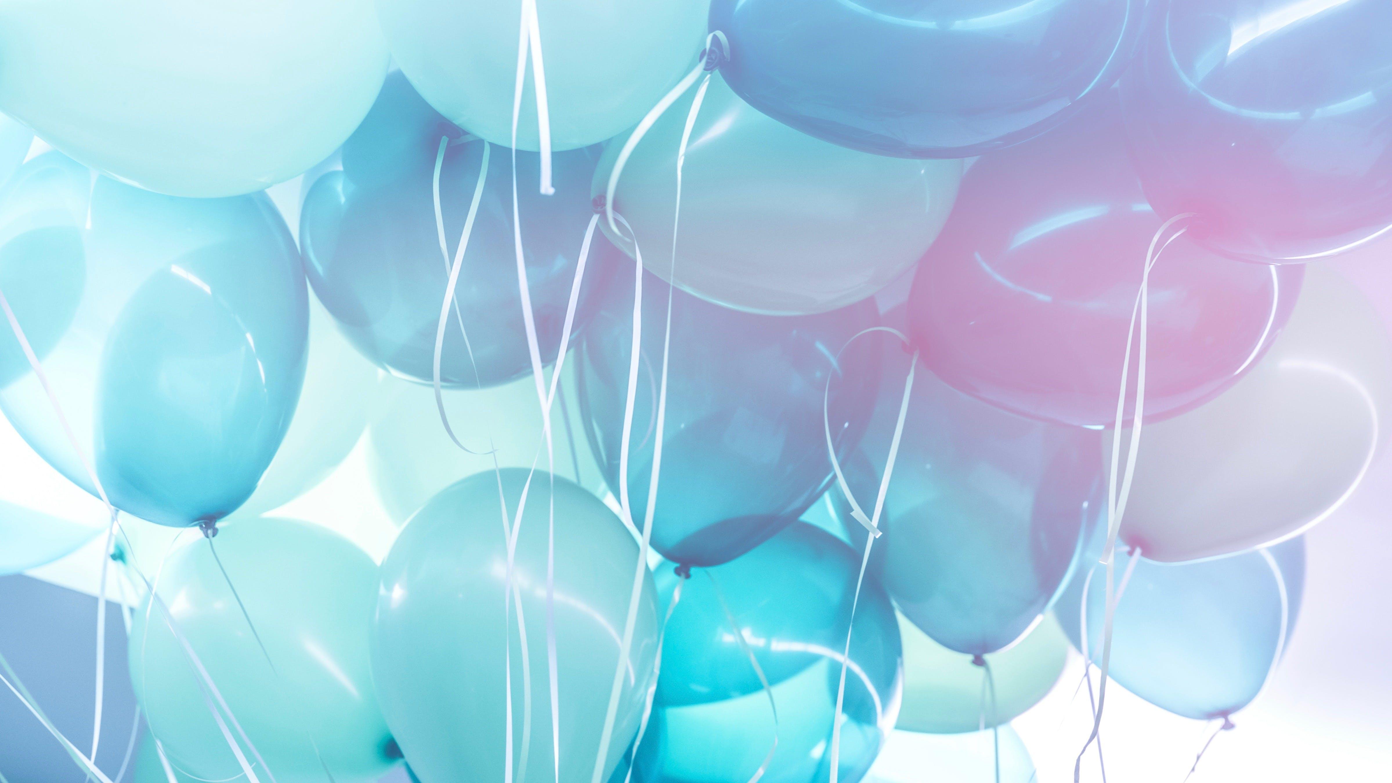 Globos azules