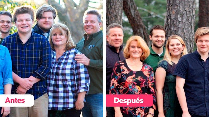 Historia de éxito familia Johnson