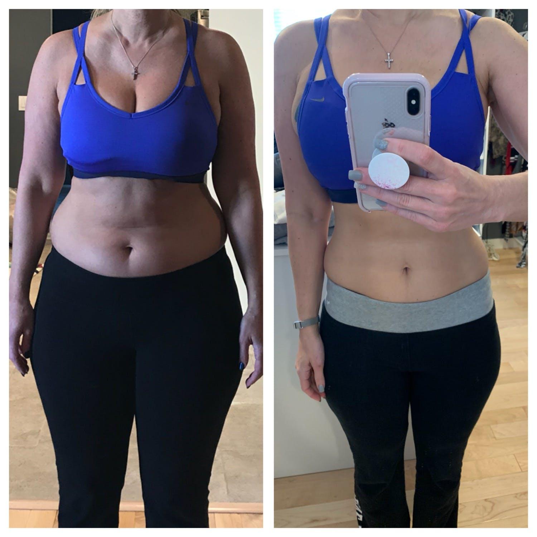 Michelle antes y después