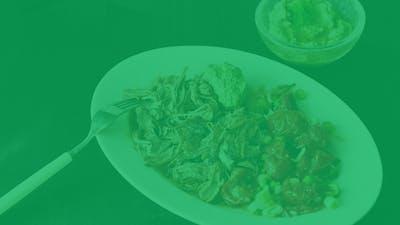 Menús low carb sin lácteos