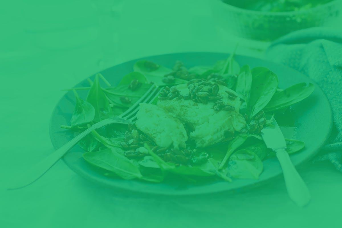 Menús vegetarianos bajos en carbos