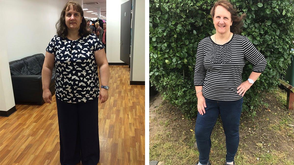 Rachel, 20 meses después de ser diagnosticada con diabetes tipo 2