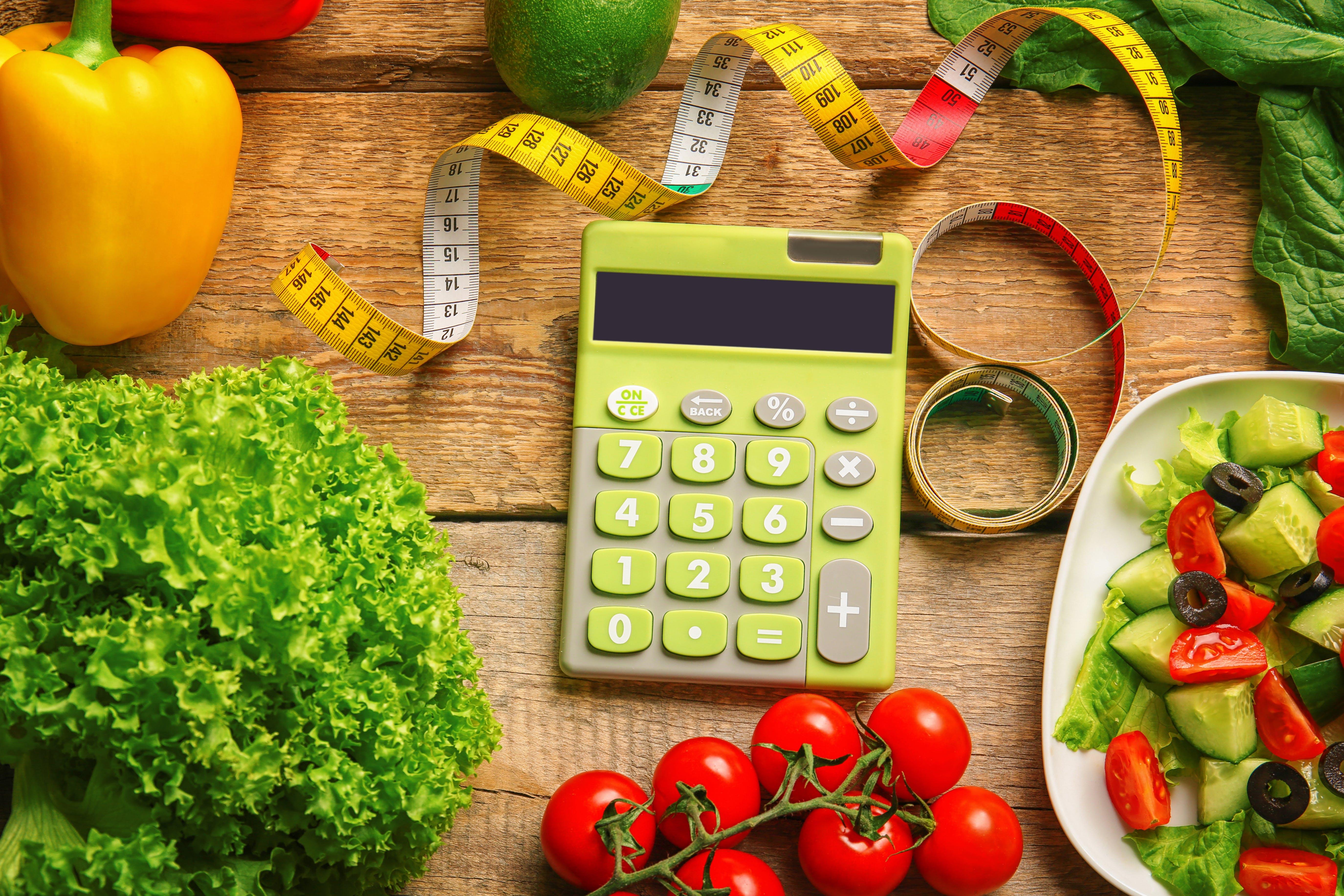 ¿Contar calorías?