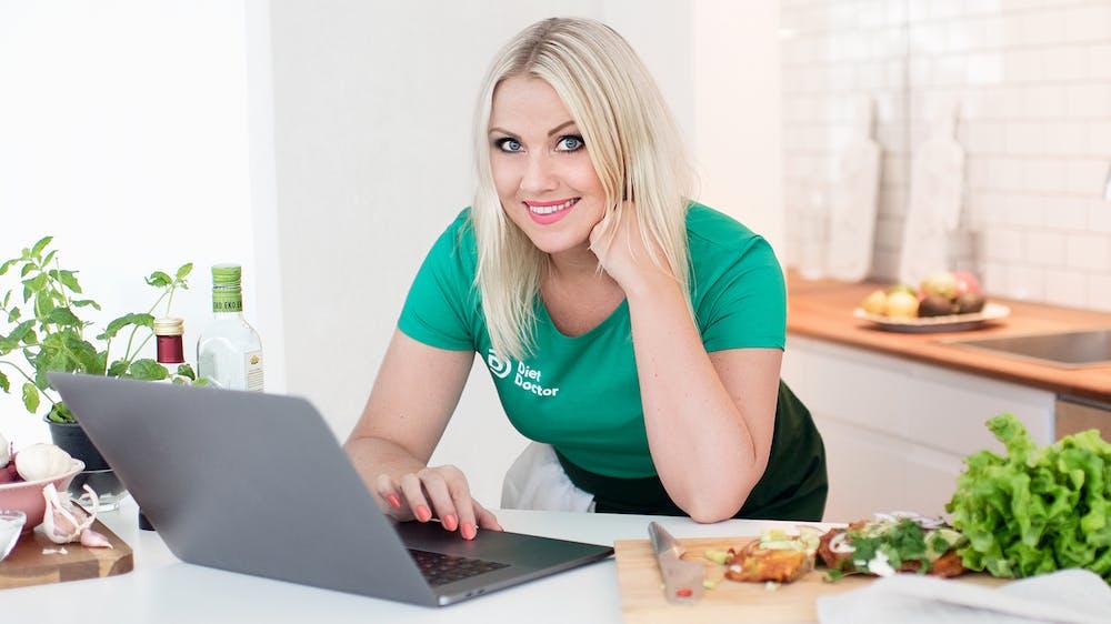 Jill en la cocina
