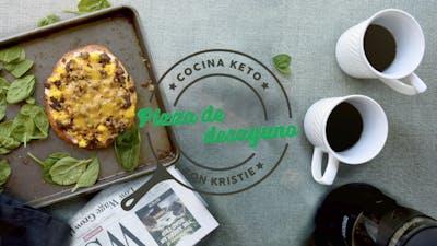 Cocina Keto con Kristie: Pizza de desayuno