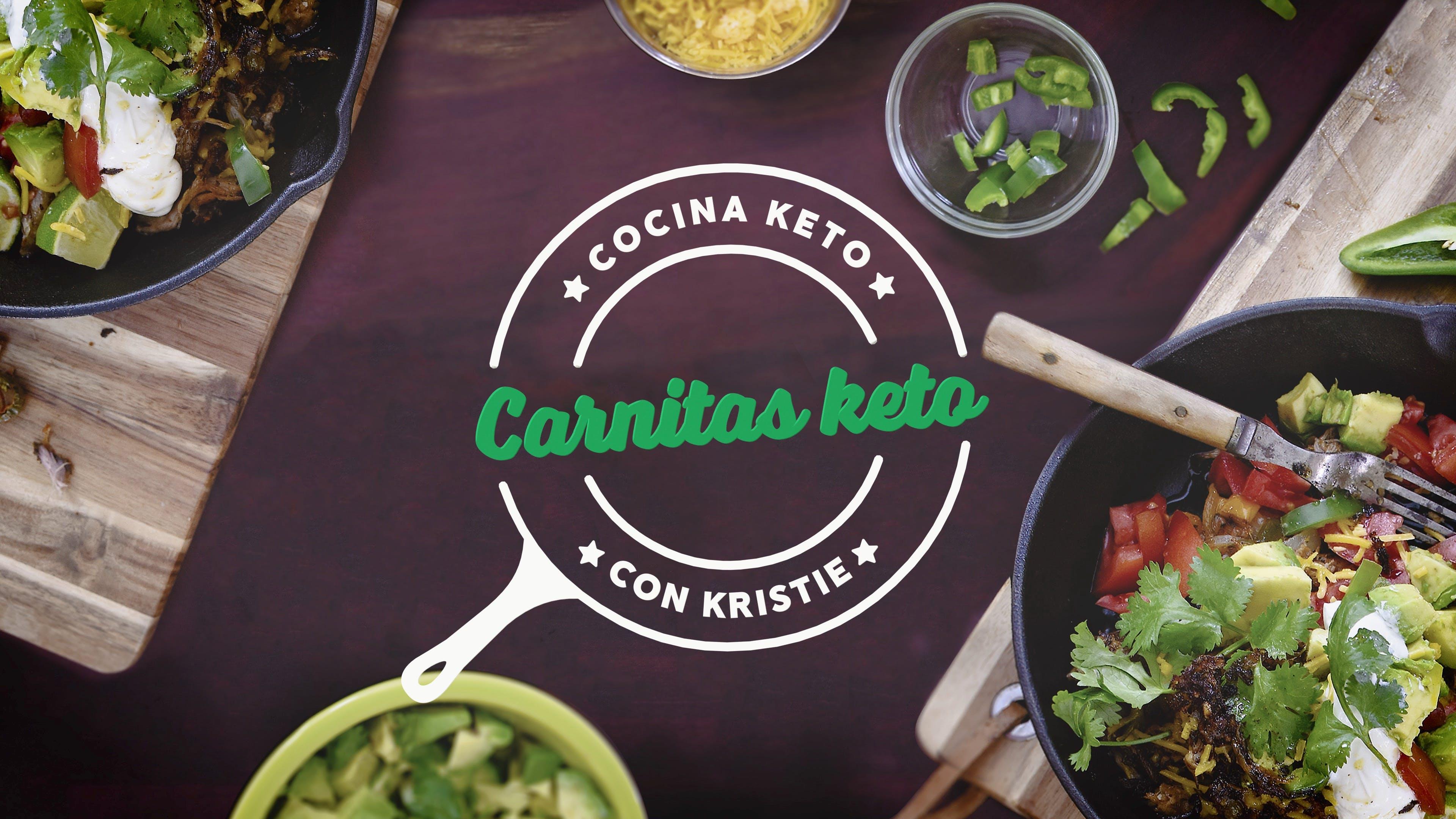 Cocina keto con Kristie - Carnitas keto