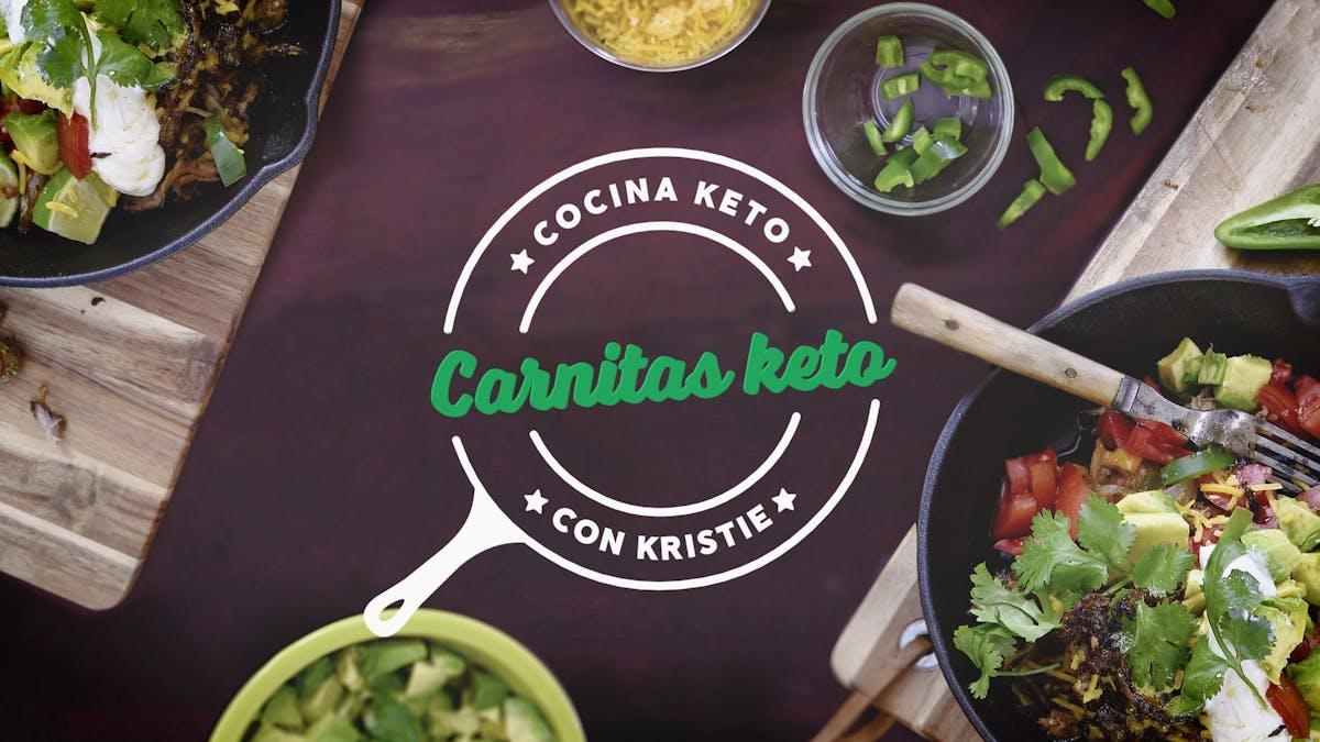 Cocina Keto con Kristie: Carnitas keto