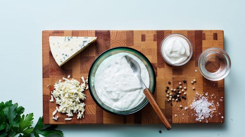 Aderezo de queso azul