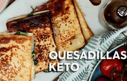 Quesadillas keto, receta en video