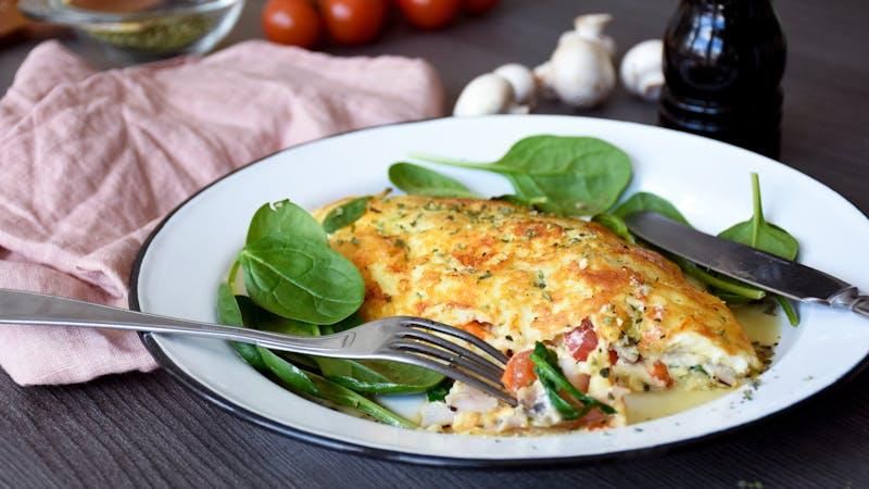 Omelet con queso de Jill