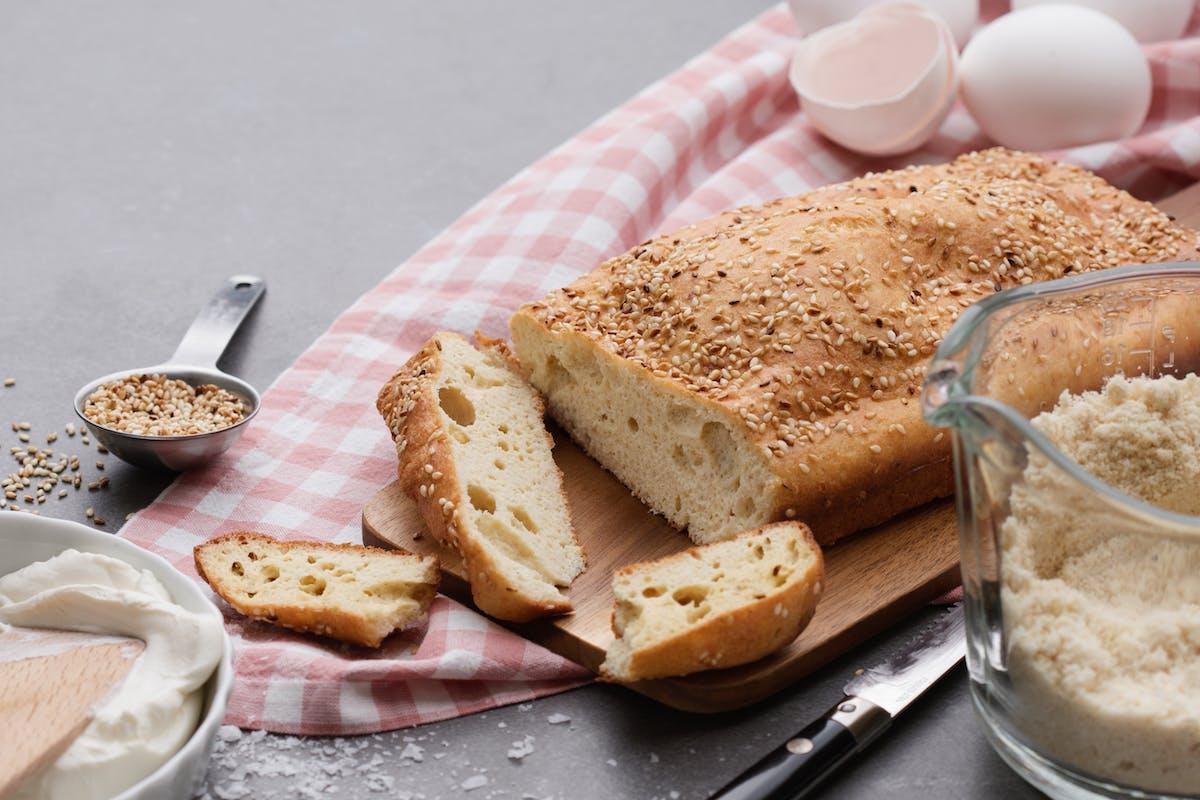Pan y repostería baja en carbos y keto