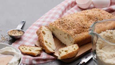 Pan y repostería keto