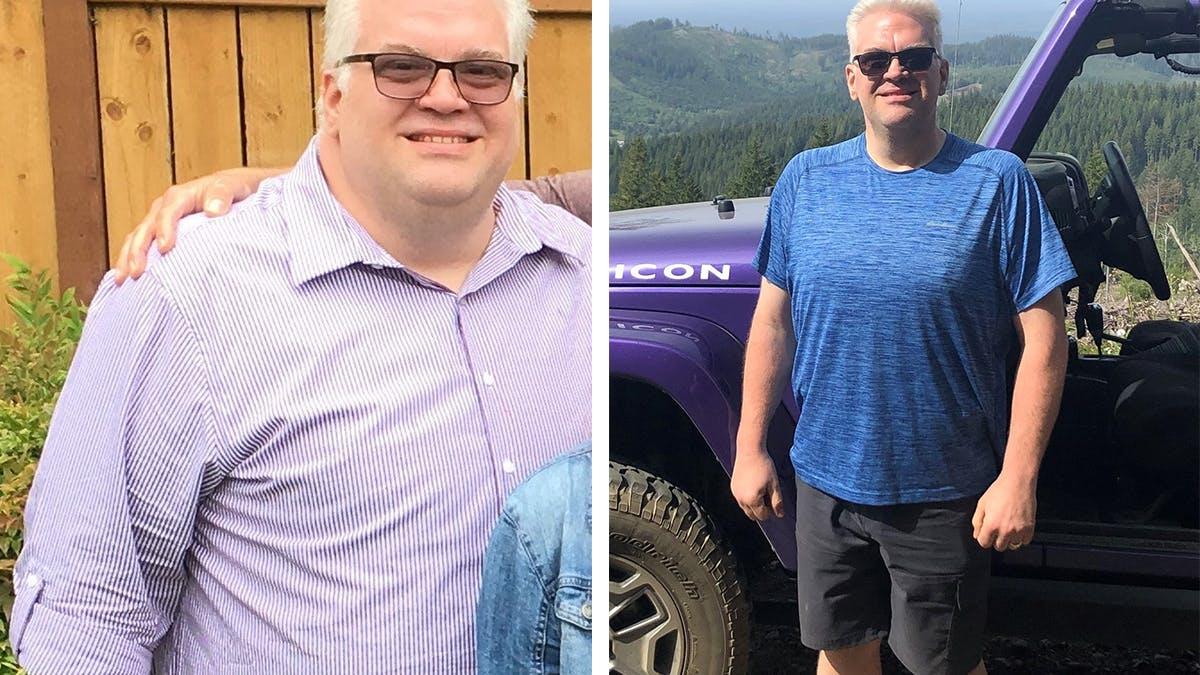 Cómo Brian perdió más de 60 kg en 12 meses
