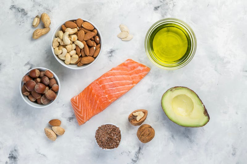 Seleccion de buenas fuentes de grasa