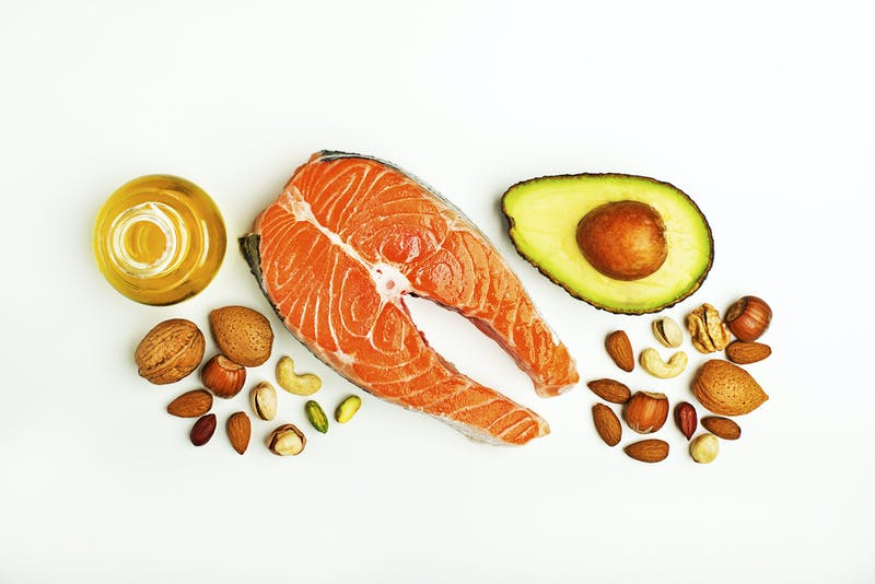 Alimentos ricos en grasa