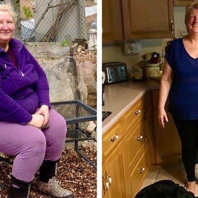 Cómo Virginia corrigió la diabetes y bajó 26 kg con la dieta keto
