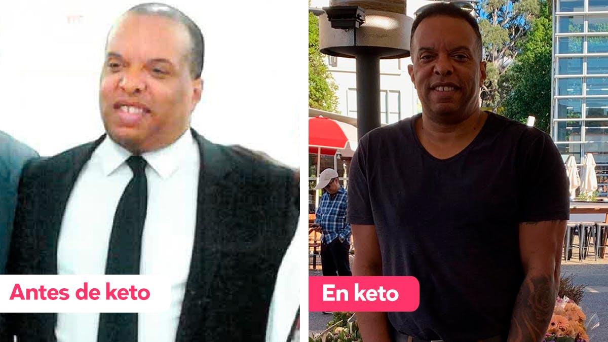 Cómo John se recuperó de las adicciones y bajó 30 kg con la dieta keto