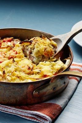 Cazuela keto de pollo (Cena)