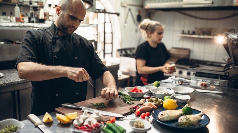 Trabajo de cocina