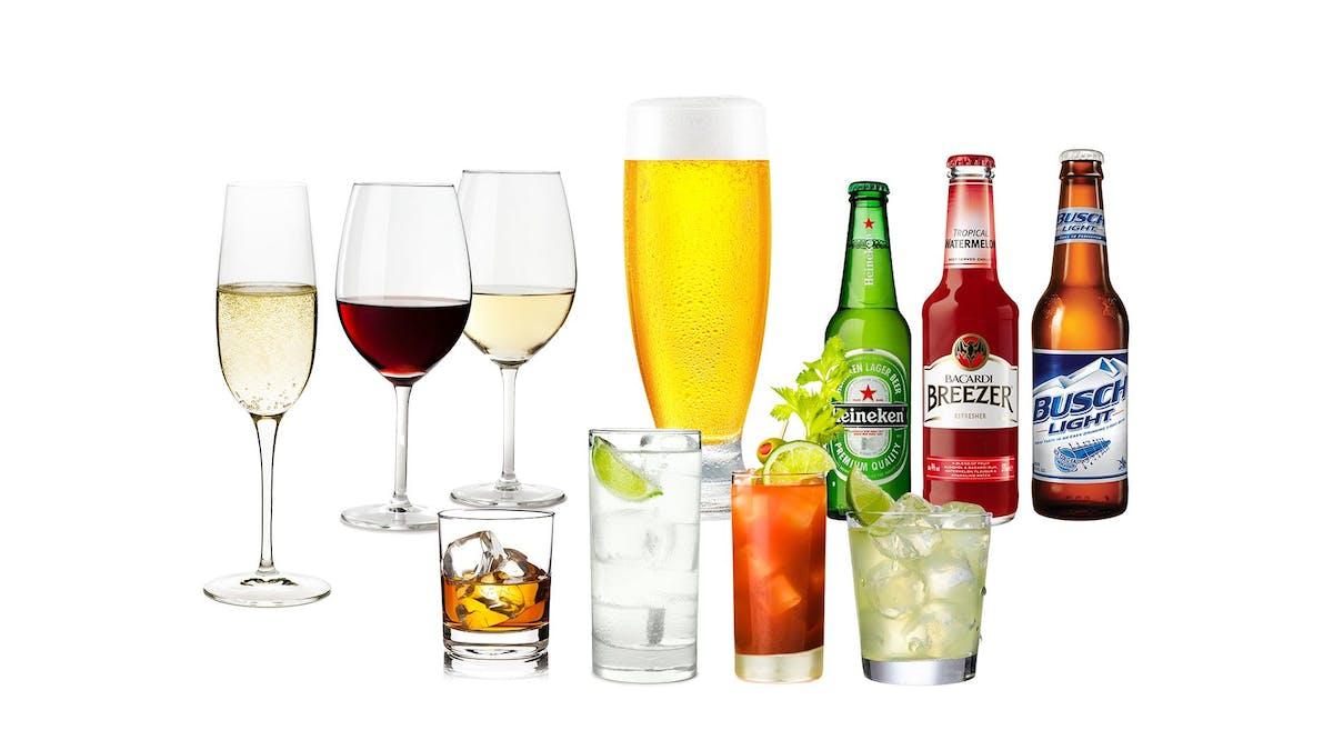 Bebidas para las festividades