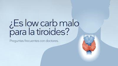 ¿Es low carb malo para la tiroides?