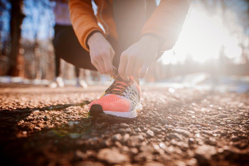 Preparandose para correr