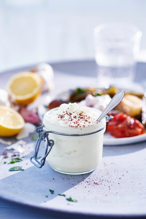 Crema de ajo libanesa (toum)