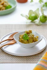 Chicharrones en salsa verde low carb