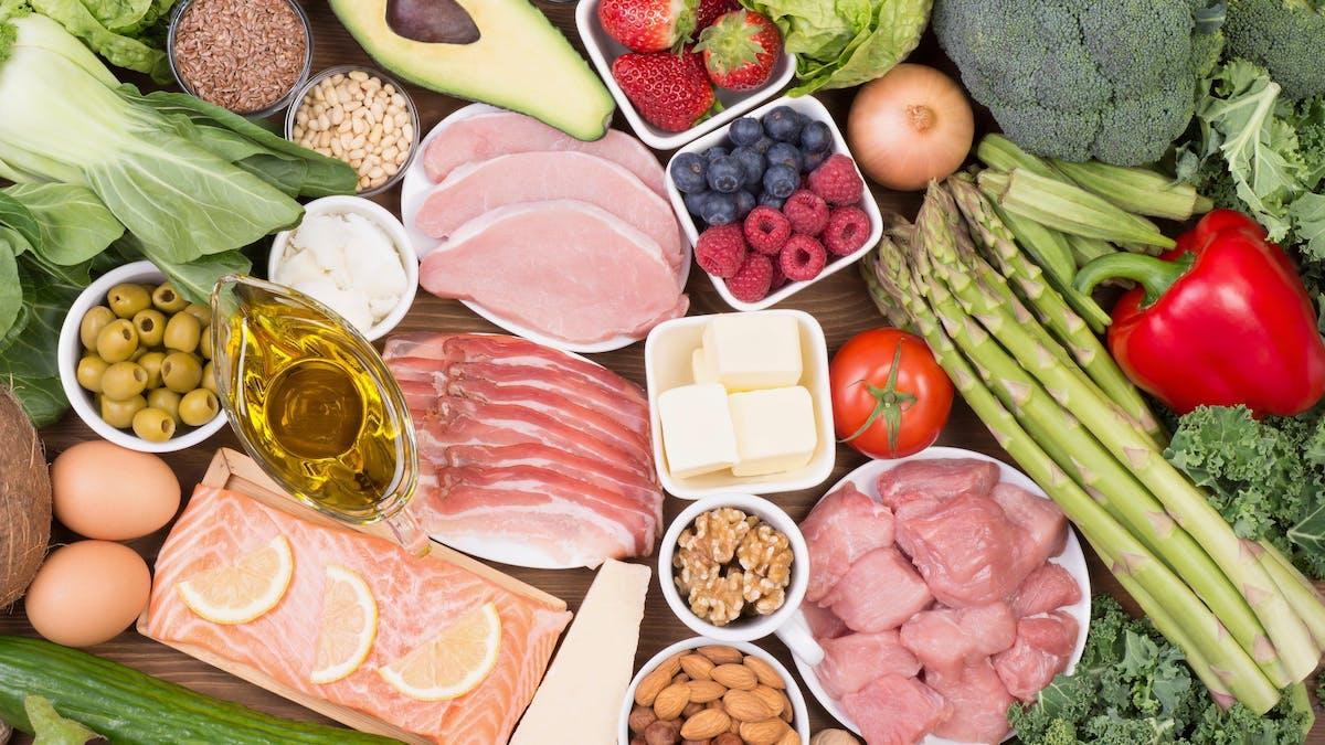 Alimentos keto: Qué comer