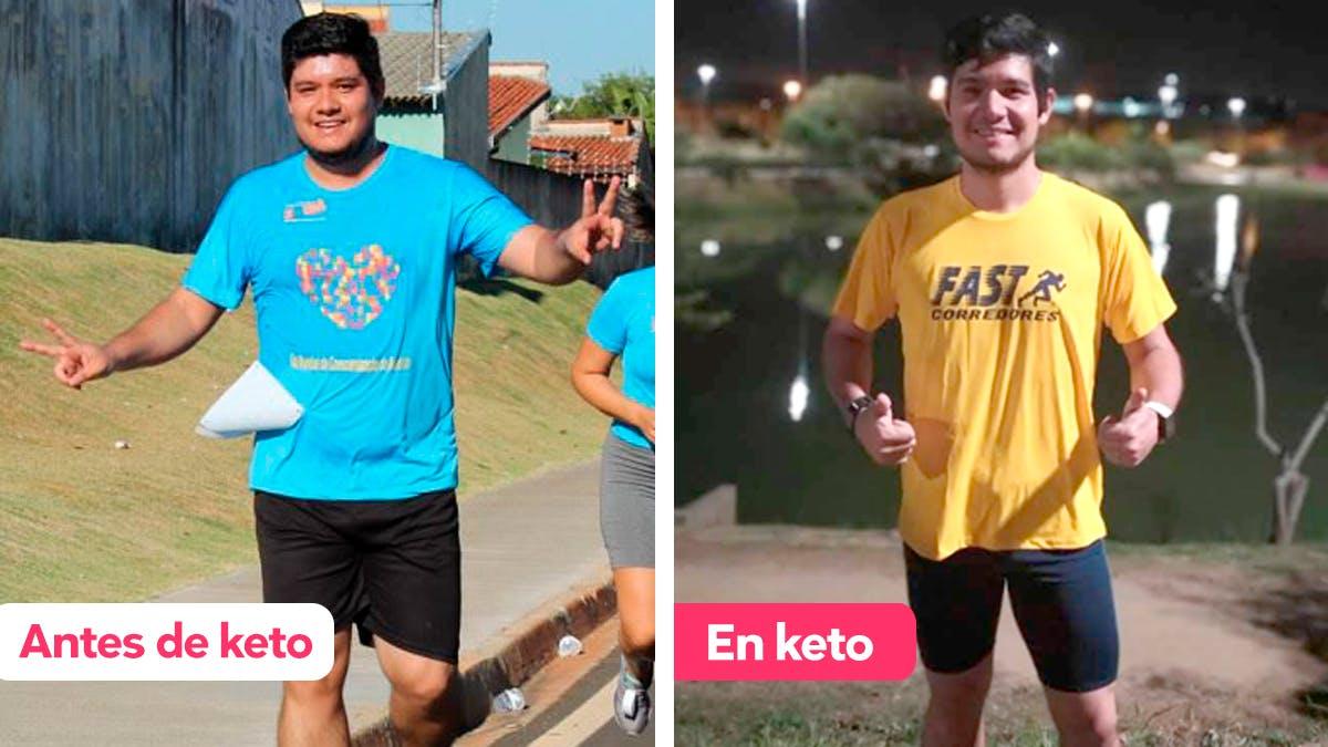 """Historia de éxito keto: """"Mi vida ha cambiado para mejor"""""""