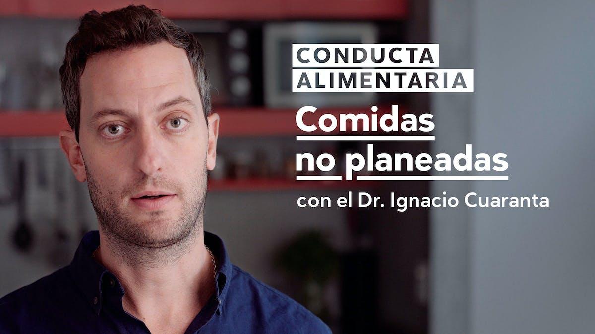 Conducta alimentaria: Comidas no planeadas
