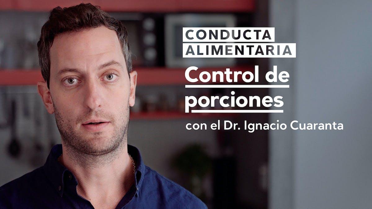 Conducta alimentaria: Control de porciones