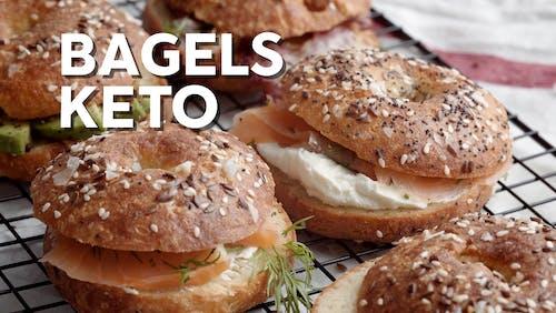Cómo hacer Bagels keto
