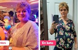 """Historia de éxito: """"Me encantan la dieta keto y sus resultados"""""""