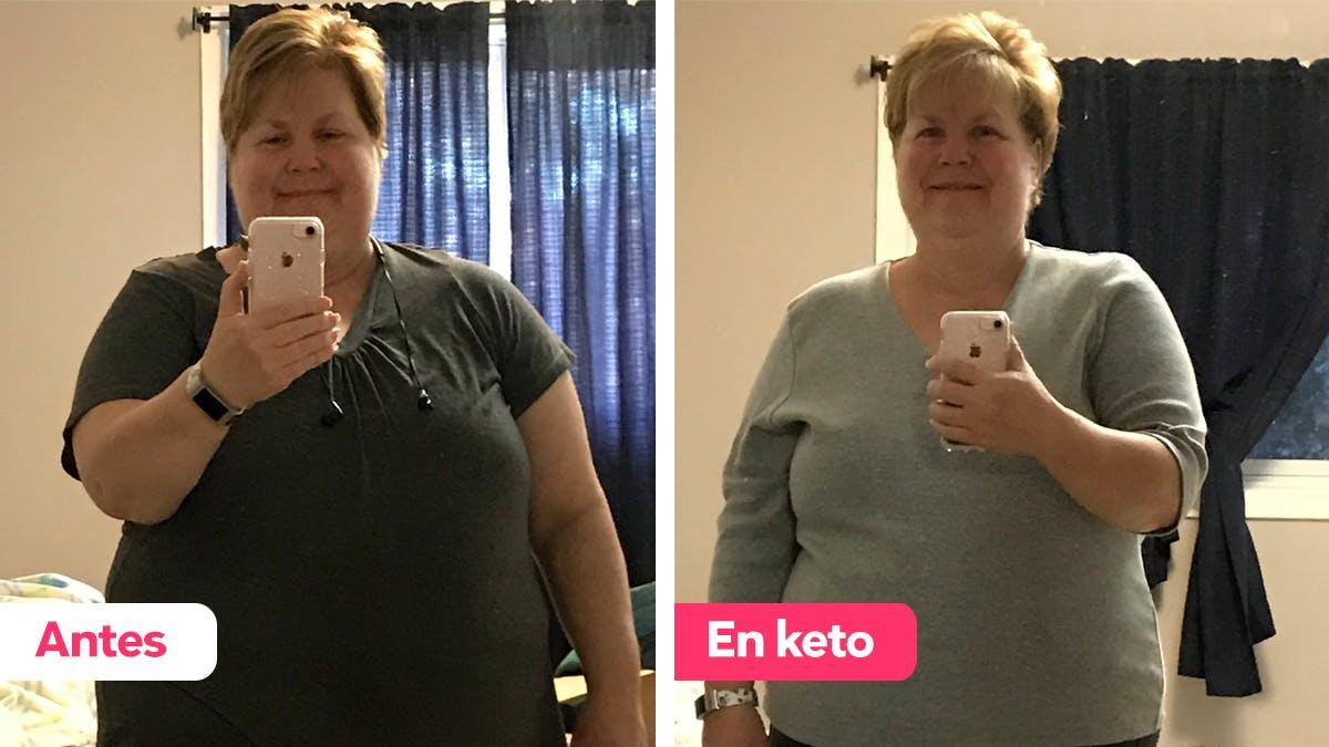 """Historia de éxito: """"La dieta keto fue más fácil de lo que pensaba"""""""