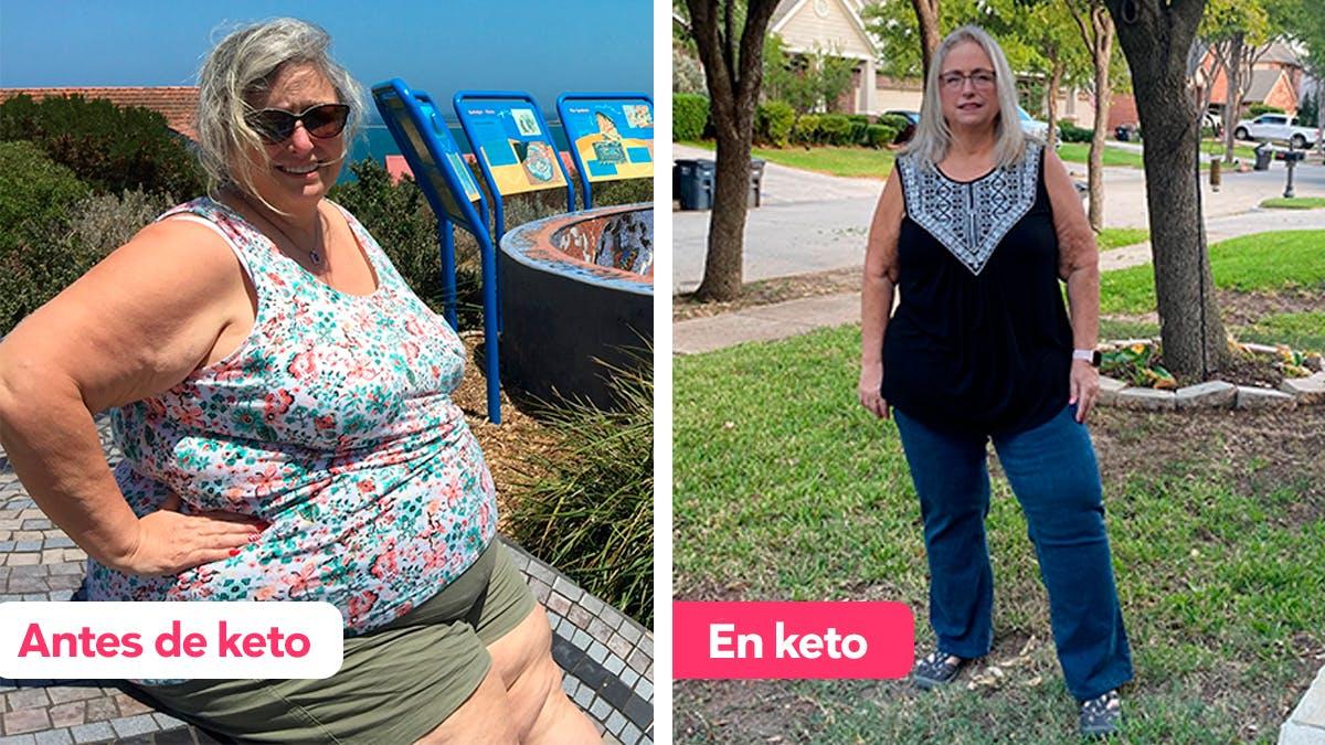 "Historia de éxito keto: ""De escéptica a creer en ella"""