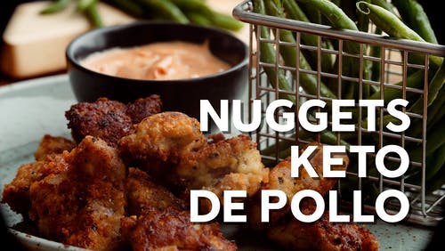 Nuggets keto de pollo