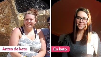"""""""La dieta keto cambió mi vida, y sé que también puede cambiar la tuya"""""""