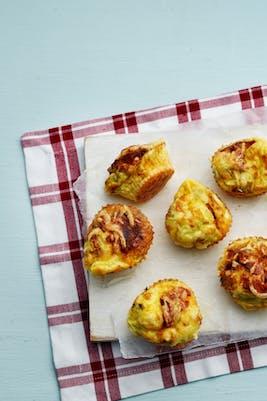 Muffins de huevo<br />(Desayuno)