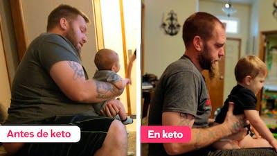 Cómo Ricky cambió su vida y perdió 95 kg