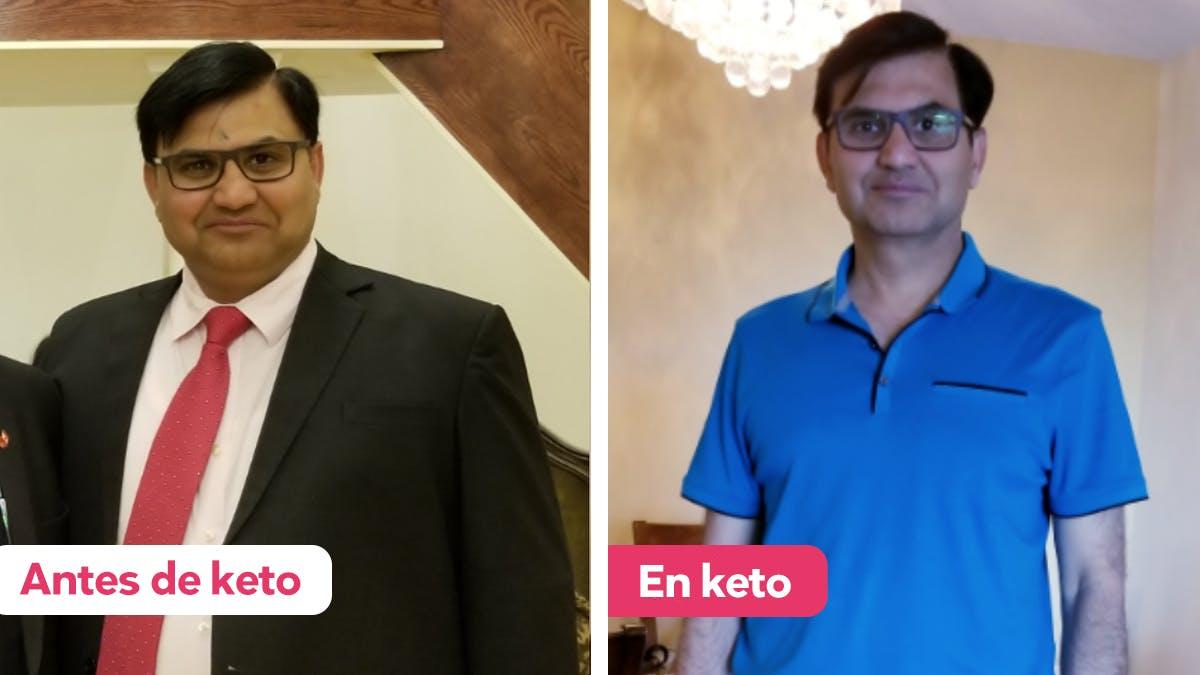 """""""Tras 10 días siguiendo la dieta keto, empecé a sentirme ligero"""""""