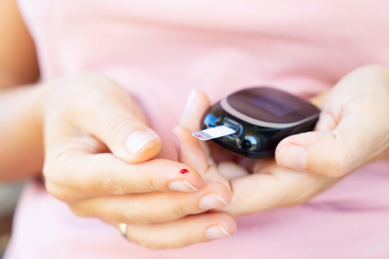 Midiendo la glucosa sanguínea